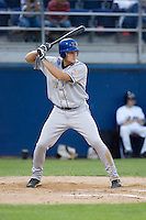 August 20, 2008:  Tri-City Dust Devils' Ryan Peisel at-bat during a Northwest League game against the Yakima Bears at Yakima County Stadium in Yakima, Washington.