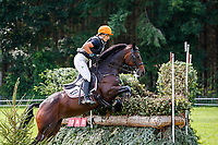 AUT-Katrin Khoddam-Hazrati rides Oklahoma 2 during the Cross Country for the CCIO4*-S FEI Nations Cup Eventing. 2021 BEL-Concours Complet Arville. Saturday 21 August 2021. Copyright Photo: Libby Law Photography
