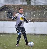 Club Brugge Dames - PEC Zwolle : Jessica Jurg .foto DAVID CATRY / Vrouwenteam.be