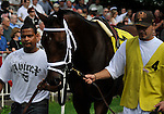 09 June 27: ?? prior to the Mother Goose Stakes for three year old fillies at Belmont Park in Elmont, New York.