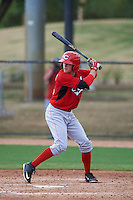 Cincinnati Reds Mitch Piatnik (26) during an instructional league game against the Los Angeles Dodgers on October 20, 2015 at Cameblack Ranch in Glendale, Arizona.  (Mike Janes/Four Seam Images)