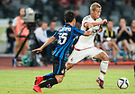 Keisuke Honda of AC Milan in action during the AC Milan vs FC Internazionale Milano as part of the International Champions Cup 2015 at the Longgang Stadium on 25 July 2015 in Shenzhen, China. Photo by Hendrik Frank / Power Sport Images