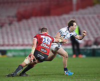 12th February 2021; Kingsholm Stadium, Gloucester, Gloucestershire, England; English Premiership Rugby, Gloucester versus Bristol Bears; Alex Craig of Gloucester tackles Ioan Lloyd of Bristol Bears