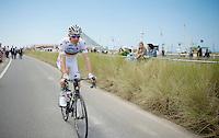 Rui Costa (POR/Lampre-Merida) to the start<br /> <br /> 2014 Tour de France<br /> stage 4: Le Touquet-Paris-Plage/Lille Métropole (163km)