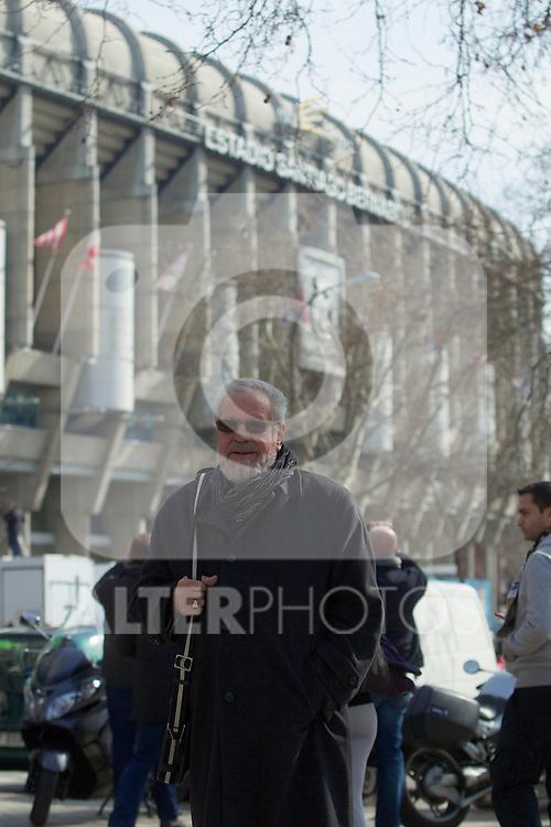 Paul Wolfisberg before La Liga match between Real Madrid and Barcelona. March 02, 2013. (ALTERPHOTOS/Alvaro Hernandez)