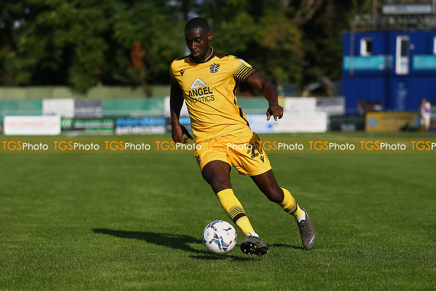 Enzo Boldewijn of Sutton United during Sutton United vs Stevenage, Sky Bet EFL League 2 Football at the VBS Community Stadium on 11th September 2021