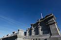 27/09/14 - SOMMET DU PUY DE DOME - PUY DE DOME - FRANCE - Travaux sur le Temple de Mercure - Photo Jerome CHABANNE