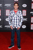 HOLLYWOOD, LOS ANGELES, CA, USA - NOVEMBER 04: Marcus Scribner arrives at the Los Angeles Premiere Of Disney's 'Big Hero 6' held at the El Capitan Theatre on November 4, 2014 in Hollywood, Los Angeles, California, United States. (Photo by David Acosta/Celebrity Monitor)