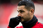 Victor Machin, Vitolo, of Atletico de Madrid looks on prior to the La Liga 2017-18 match between Atletico de Madrid and Girona FC at Wanda Metropolitano on 20 January 2018 in Madrid, Spain. Photo by Diego Gonzalez / Power Sport Images