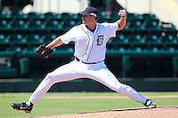 Detroit Tigers pitcher Shawn Teufel (65) during a game vs. the Washington Nationals in an Instructional League game at Joker Marchant Stadium in Lakeland, Florida;  October 1, 2010.   Photo By Mike Janes/Four Seam Images