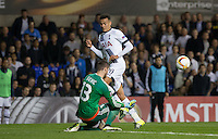Goalkeeper Ibrahim Sehic of Qarabag FK pulls off a save from Dele Alli of Tottenham Hotspur during the UEFA Europa League match between Tottenham Hotspur and Qarabag FK at White Hart Lane, London, England on 17 September 2015. Photo by Andy Rowland.