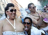 Gay Pride, Roma, 13 giugno 2009..Gay Pride, Rome, 13 june 2009..UPDATE IMAGES PRESS/Riccardo De Luca