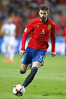 Spain's Gerard Pique during FIFA World Cup 2018 Qualifying Round match. March 24,2017.(ALTERPHOTOS/Acero) /NortePhoto.com