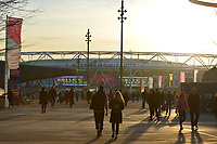 General view of the London Stadium during West Ham United vs Fulham, Premier League Football at The London Stadium on 22nd February 2019
