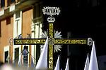 Cofradia de la Resurreccion de la Iglesia de Santa Maria.  Semana Santa. Pasos. Procesiones..Sevilla, Andalucia, Espana.