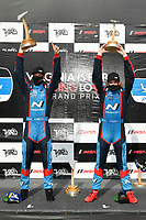 #98 Bryan Herta Autosport w/ Curb Agajanian Hyundai Veloster N TCR, TCR: Michael Lewis, Mason Filippi