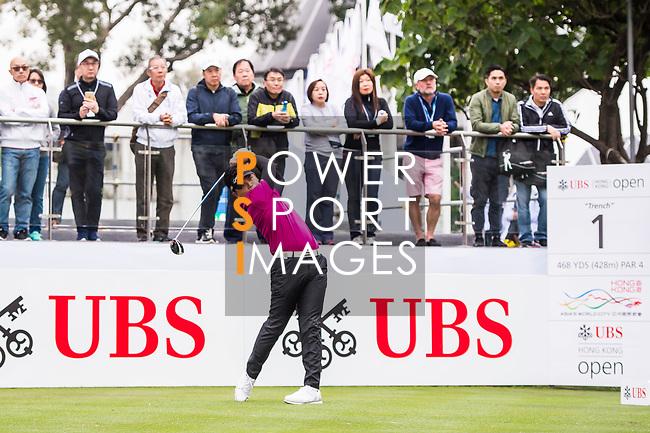 during the day three of UBS Hong Kong Open 2017 at the Hong Kong Golf Club on 25 November 2017, in Hong Kong, Hong Kong. Photo by Marcio Rodrigo Machado / Power Sport Images