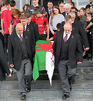 2017 05 31 Funeral for former First Minister Rhodri Morgan at the Senedd, Cardiff, Wales