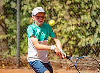 Hilversum, Netherlands, August 6, 2018, National Junior Championships, NJK, Abel Forger (NED)<br /> Photo: Tennisimages/Henk Koster