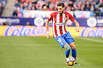 Atletico de Madrid Yannick Carrasco during La Liga match between Atletico de Madrid and UD Las Palmas at Vicente Calderon Stadium in Madrid, Spain. December 17, 2016. (ALTERPHOTOS/BorjaB.Hojas)