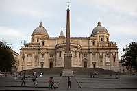 Basilica Papale di Santa Maria Maggiore is seen on Tuesday, Sept. 22, 2015, in Rome, Italy. (Photo by James Brosher)