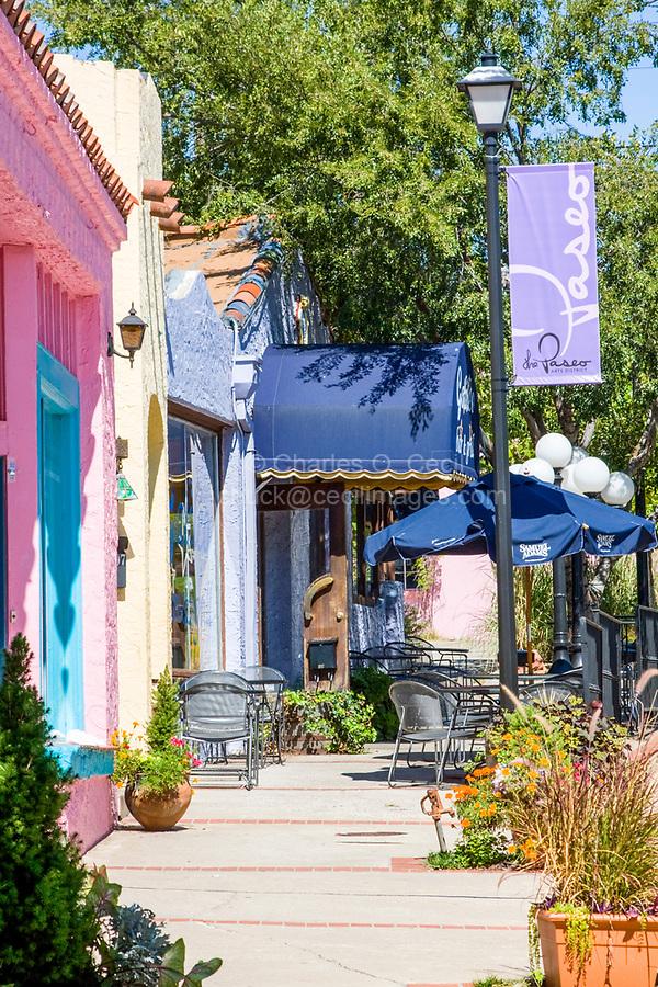 Oklahoma City, Oklahoma, USA.  Paseo Arts District Street Scene.