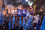 Peronist Party Rally in Buenos Aires Argentina