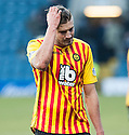 Partick's Frederic Frans at the end of the game.