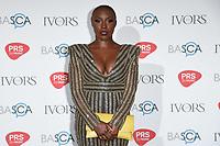 Laura Mvula<br /> at The Ivor Novello Awards 2017, Grosvenor House Hotel, London. <br /> <br /> <br /> ©Ash Knotek  D3267  18/05/2017