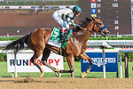 August 8, 2020: GAMINE #5, ridden by John Velazquez, wins the LONGINES Test on Travers Day at Saratoga Race Course in Saratoga Springs, New York. Rob Simmons/Eclipse Sportswire/CSM