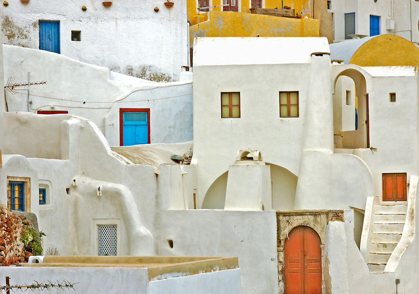 Image from the Book Journey through Color and Time,  GREECE, THE COLORS  OF SANTORINI