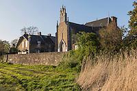 Europe/France/Normandie/Basse-Normandie/50/Manche/Genêts: La Maison de la Baie, aménagée dans l'ancienne chapelle Sainte-Anne // France, Manche, Genets: