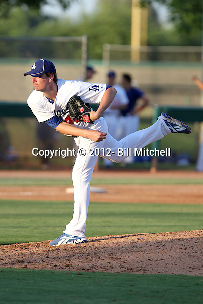 Sean O'Connell - 2012 AZL Dodgers (Bill Mitchell)