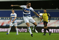 Geoff Cameron of Queens Park Rangers shot goes wide during Queens Park Rangers vs Watford, Sky Bet EFL Championship Football at The Kiyan Prince Foundation Stadium on 21st November 2020