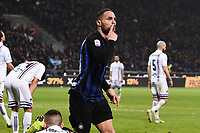 Danilo D'Ambrosio of Internazionale celebrates after scoring the goal of 1-0 <br /> Milano 17-2-2019 Stadio Giuseppe Meazza in San Siro Football Serie A 2018/2019 FC Internazionale  - UC Sampdoria Foto Image Sport / Insidefoto