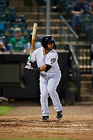 Jackson Generals Jamie Westbrook (45) at bat during a Southern League game against the Mississippi Braves on July 23, 2019 at The Ballpark at Jackson in Jackson, Tennessee.  Mississippi defeated Jackson 1-0 in the second game of a doubleheader.  (Mike Janes/Four Seam Images)