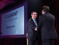 Montreal, CANADA, March 24, 2015 Florent Francoeur, Président par intérim de la Commission des Partenaires du Marché du Travail<br /> et <br /> Steve Bissonnette, président de Diacarb