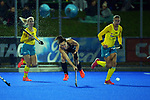 during the Sentinel Homes Trans Tasman Series hockey match between the New Zealand Black Sticks Women and the Australian Hockeyroos at Massey University Hockey Turf in Palmerston North, New Zealand on Tuesday, 1 June 2021. Photo: Dave Lintott / lintottphoto.co.nz