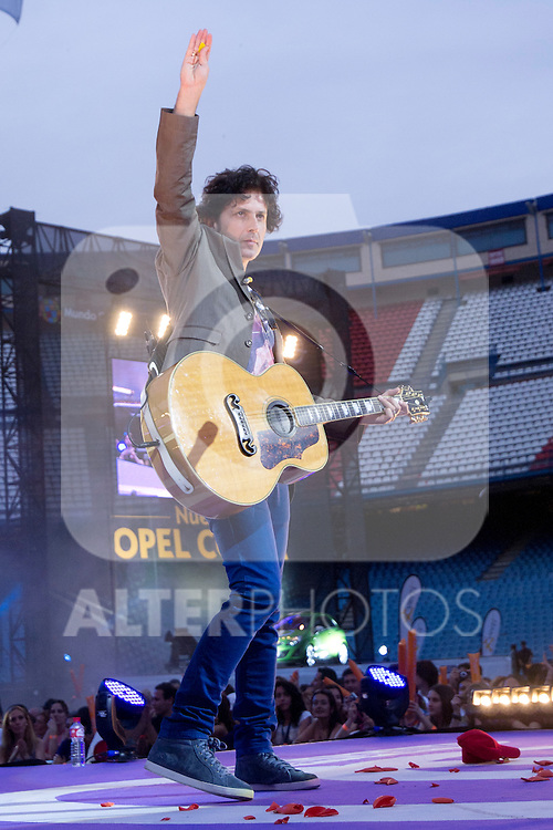 02.06.2012. Taxi performs during in the ´Cadena 100´ 20 th anniversary Concert at the stadium Vicente Calderon in Madrid. In the image: Taxi (Alterphotos/Marta Gonzalez)