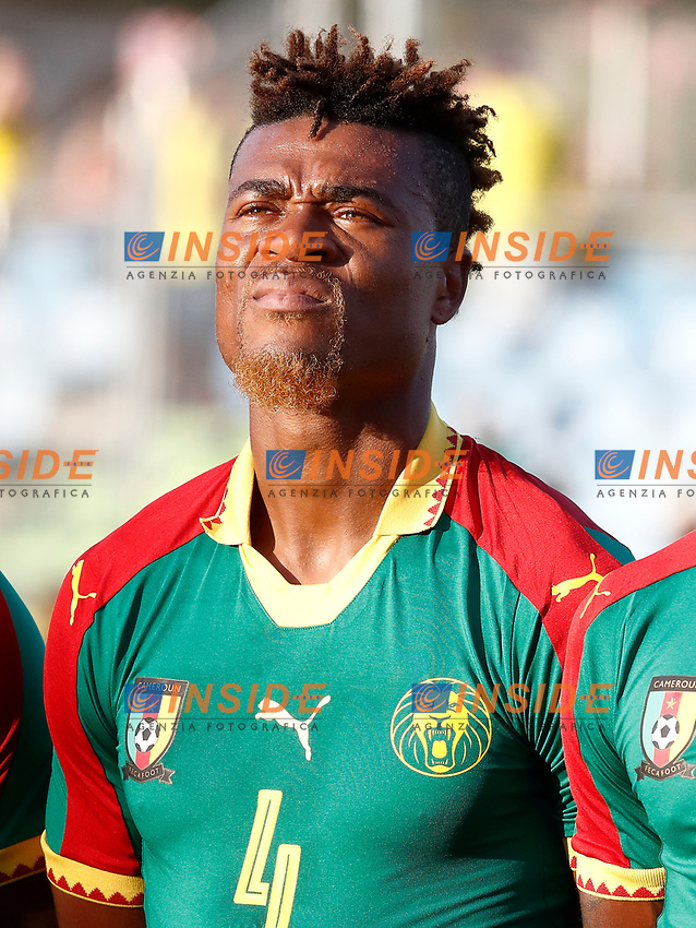 Cameroon's Adolphe Teikeu during international friendly match. June 13,2017.(ALTERPHOTOS/Acero/Insidefoto)<br /> Camerun - Colombia <br /> Foto Acero/Alterphotos/Insidefoto <br /> ITALY ONLY