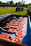 Promotion final winners medals ready for collection. Vanarama National League North, Promotion Final, North Ferriby United v AFC Fylde, 14th May 2016.