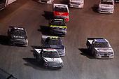 #17: Tyler Dippel, DGR-Crosley, Toyota Tundra Hue Jackson Foundation / Caruso Logistics, #99: Sheldon Creed, MDM Motorsports, Chevrolet Silverado United Rentals and #3: Ryan Newman, Jordan Anderson Racing, Chevrolet Silverado VRX Ryan Newman VR Experience / MotoShield Pro