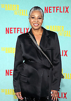 LOS ANGELES, CA - OCTOBER 13: Antoinette Messam, at the Special Screening Of The Harder They Fall at The Shrine in Los Angeles, California on October 13, 2021. Credit: Faye Sadou/MediaPunch
