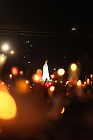 Procissão em homenagem a Nossa Senhora de Fatima percorre as ruas da capital paraense.<br />Belem, Para, Brasil