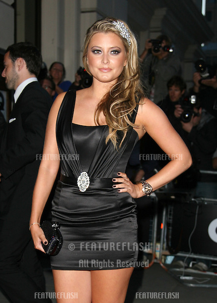 Holly Valance arriving for the GQ Awards 2010, at the Royal Opera House, London. 07/09/2010  Picture by: Alexandra Glen / Featureflash