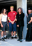 Various portrait sessions of the rock band, Geezer Butler Band