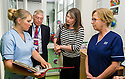 Aileen Campbell MSP, Minister for Public Health and Sport visits the Women & Children Unit at Forth Valley Royal Hospital.