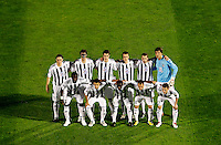 Fudbal, Champions league,Group H season 2010/2011.Partizan Vs. Arsenal.FC Partizan, down, from left, Pierre Boya, Nemanja Tomic, Medo, Aleksandar Lazevski and Sasa Ilic, up, from left, Cleo, Mladen Krastajic, Radosav Petrovic, Marko Jovanovic, Ivan Stevanovic and goalkeeper Vladimir Stojkovic.Beograd, 29.09.2010..foto: Srdjan Stevanovic/Starsportphoto ©