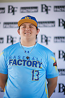 Riley Covington (13) of Liberty North High School in Kansas City, Missouri during the Baseball Factory All-America Pre-Season Tournament, powered by Under Armour, on January 12, 2018 at Sloan Park Complex in Mesa, Arizona.  (Zachary Lucy/Four Seam Images)