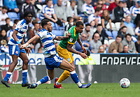 Preston North End's Lukas Nmecha competing with Reading's Lewis Baker <br /> <br /> Photographer Andrew Kearns/CameraSport<br /> <br /> The EFL Sky Bet Championship - Reading v Preston North End - Saturday 30th March 2019 - Madejski Stadium - Reading<br /> <br /> World Copyright © 2019 CameraSport. All rights reserved. 43 Linden Ave. Countesthorpe. Leicester. England. LE8 5PG - Tel: +44 (0) 116 277 4147 - admin@camerasport.com - www.camerasport.com